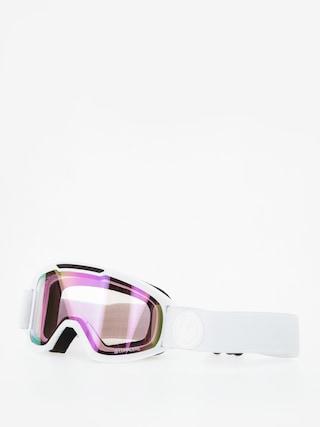 Ochelari pentru snowboard Dragon DX2 (whiteout/lumalens pink ion/lumalens dark smoke)