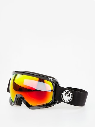 Ochelari pentru snowboard Dragon D3 (black/lumalens red ion/l rose)