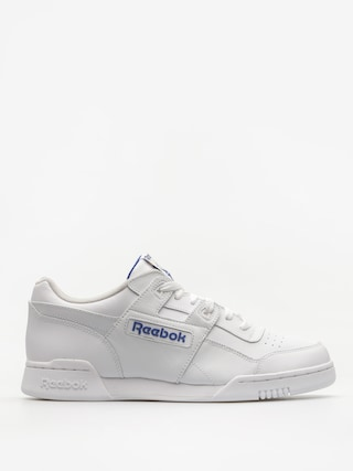 Pantofi Reebok Workout Plus (white/royal)