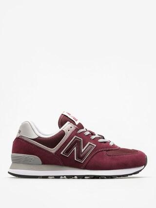 Pantofi New Balance 574 (burgundy)