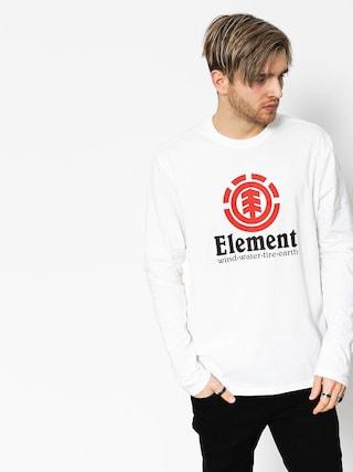 Tricou Element Vertical (optic white)