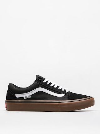 Pantofi Vans Old Skool Pro (black/white/medium gum)