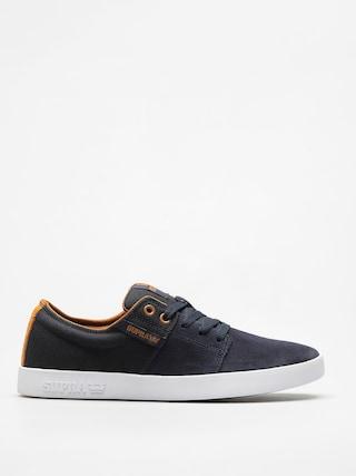 Pantofi Supra Stacks II (navy/tan white)