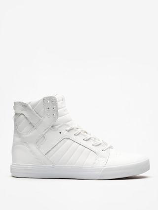 Pantofi Supra Skytop (white/white red)