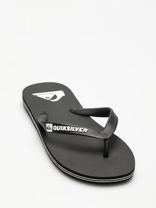 papuci de plaju0103 Quiksilver Molokai (black/black/white)