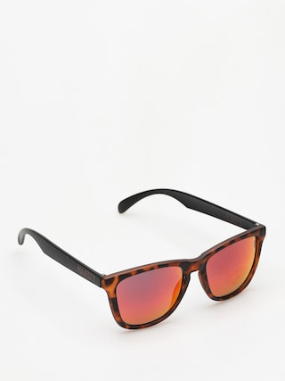 Ochelari de soare Majesty Shades M (tortoise/black red mirror lens)