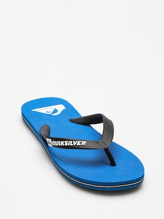 papuci de plaju0103 Quiksilver Molokai (black/blue/black)