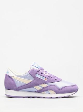 Pantofi Reebok Cl Nylon Wmn (archive frozen lilac/smoky violet/wht/ath blu)