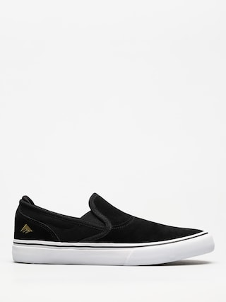 Pantofi Emerica Wino G6 Slip On (black/white/gold)