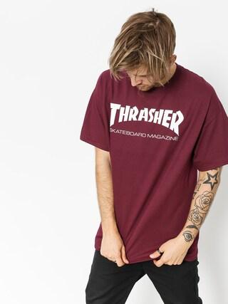 Tricou Thrasher Skate Mag (maroon)