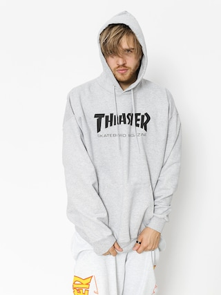 Hanorac cu glugu0103 Thrasher Skate Mag HD (grey)