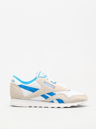Pantofi Reebok Cl Nylon Wmn (archive white/cycle blue)