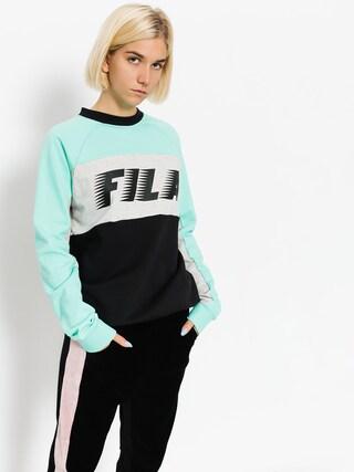 Hanorac Fila Layton Colour Block Wmn (black/cockatoo)