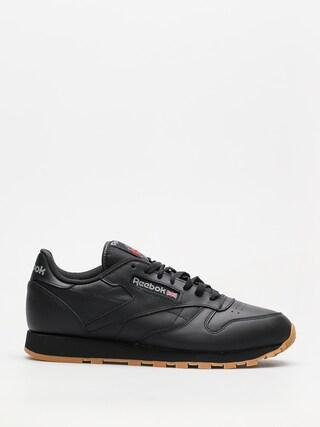Pantofi Reebok Cl Lthr (black/gum)