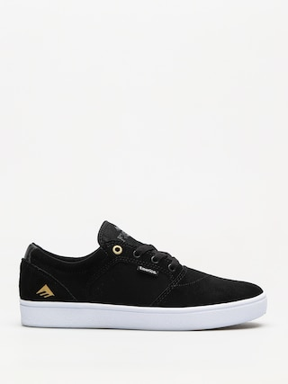 Pantofi Emerica Figgy Dose (black/white/gold)