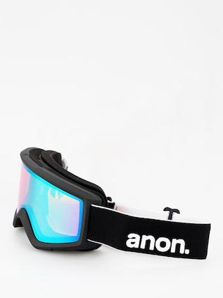 Ochelari pentru snowboard Anon Helix 2 Sonar W Spare (black/sonar green)