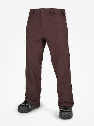 Pantaloni pentru snowboard Volcom Freakin Snow Chino (black red)