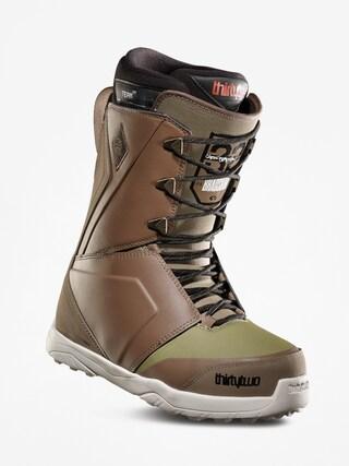 u00cencu0103lu021bu0103minte pentru snowboard ThirtyTwo Lashed Bradshaw (brown/green)