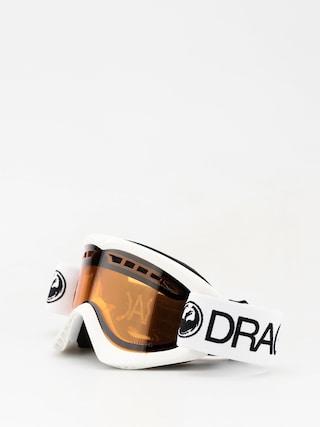 Ochelari pentru snowboard Dragon DXS (white/lumalens amber)
