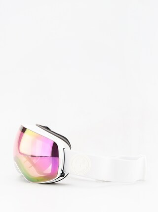 Ochelari pentru snowboard Dragon X2s (whiteout/lumalens pink ion/dark smoke)