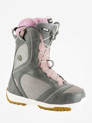 u00cencu0103lu021bu0103minte pentru snowboard Nitro Monarch TLS Wmn (grey)