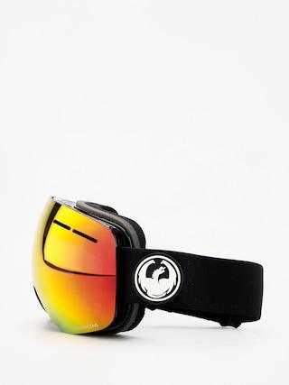 Ochelari pentru snowboard Dragon X1s (black/lumalens red ion/lumalens rose)